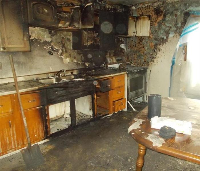 Kitchen Stove Fire in Butler County PA